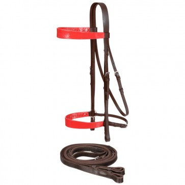 Draft Horse Saddle Seat Bridle