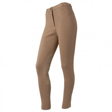Ladies Breeches with Suede Knee