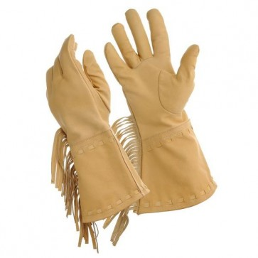 Tough-1 Men's Buck-A-Roo Gloves w/ Fringe