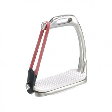 EquiRoyal Peacock Stirrup Irons
