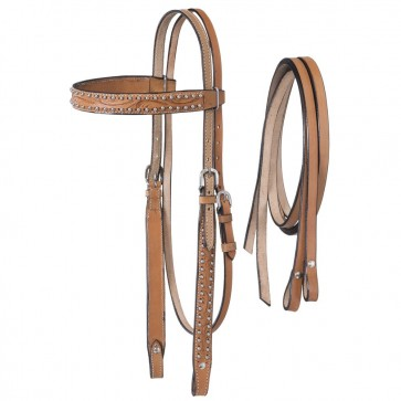 Braden Collection Pony Headstall with Reins
