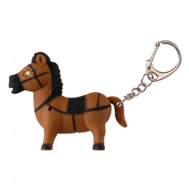 Light Up Horse Keychain · Zoom 07d4b0fac