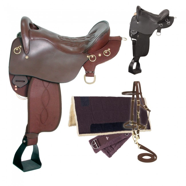 Eclipse by Tough 1 Endurance Saddle Without Horn 5 Piece