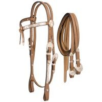 Full Silver Show Futurity Brow Headstall
