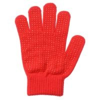 Tough1® Pebbled Grip Stretchy Knit Riding Gloves