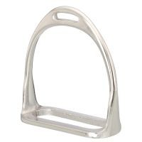 EquiRoyal Nickle Plated Stirrup Irons