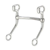 Kelly Silver Star Mullen Mouth Reining Horse Bit