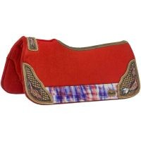 Hand Painted Naomi Saddle Pad