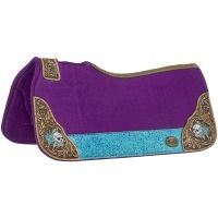 Hand Painted Salvador Saddle Pad
