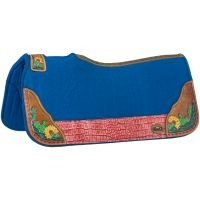 Hand Painted Cactus Saddle Pad