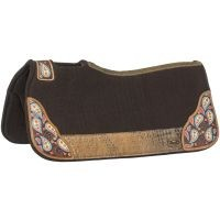 Hand Painted Paisley Saddle Pad