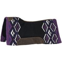 "Tough1® Pachanga 36""x34"" Contour Wool Saddle Pad"
