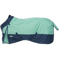 Tough-1 1200D Waterproof Poly Turnout Blanket w/ Adjustable Snuggit Neck