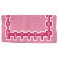 Tough-1 4 lb Wool Saddle Blanket Crosses Design