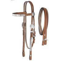 McCoy Collection Pony Headstall with Reins
