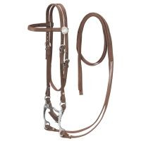 King Series Pony Nylon w/ Leather Bridle