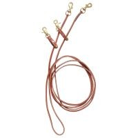 Royal King Leather Pulley Draw Reins