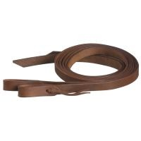 "1"" x 8ft Harness Leather Reins w/Waterloop"