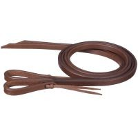 Miniature Harness Leather Reins with Water Loop Bit Ends