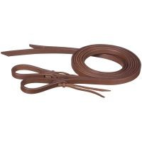 Pony Harness Leather Reins with Water Loop Bit Ends