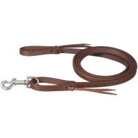 Miniature Harness Leather Roping Reins with Tie Ends