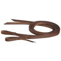 "5/8"" x 8ft Harness Leather Reins w/Waterloop"
