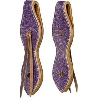 Purple and Gold Slobber Straps