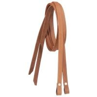 Western Leather X-Long Split Reins