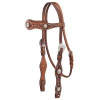 Premium Nashville Straight Brow Headstall