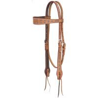 Medina Buckstitch Browband Headstall