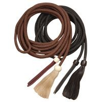 Royal King Braided Mecate Rope w/ Horsehair Tassel
