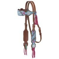 Macaelah Collection Headstall w/Fringe
