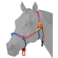 Tough-1 Multi-Colored Miniature Rope Halter