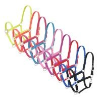 6-Pack Nylon Halter with Satin Hardware