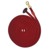Tough1® Rolled Cotton Lunge Line with Solid Brass Snap