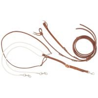 Performers 1st Harness Leather German Martingale