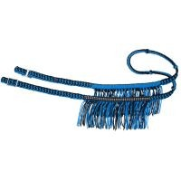 Tough1® Knotted Competition Reins with Fringe and Crystal Accents