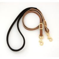 Royal King Suede Wrapped Barrel Reins