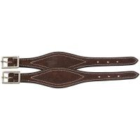 Shaped Leather Hobble Straps