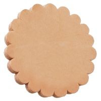 Royal King Solid Leather Rosettes