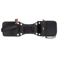 Tough-1 Saddle Bag/Gear Carrier with Gun Holster