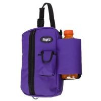 Tough-1 Denier Zipper Pouch w/ Water Bottle Holder