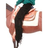 Tough-1 Suede Equitation Chaps