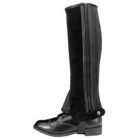 Tough-1 Suede Leather Half Chaps