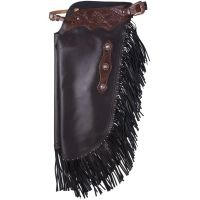 Tough1® Faux Leather Chinks - Floral Tooled Yoke