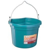 Tough-1 8 Qt Flat Back Bucket