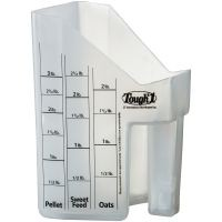 Tough1® Feed Scoop with Measurements