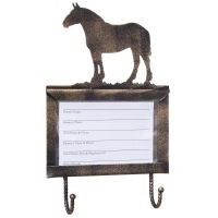 Deluxe Stall Card Holder with Hooks