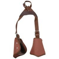 Tough-1 Kids Nylon Slip-On Stirrup Set (Hooded Stirrups)