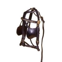 Tough-1 Leather Replacement Bridle (MINI)